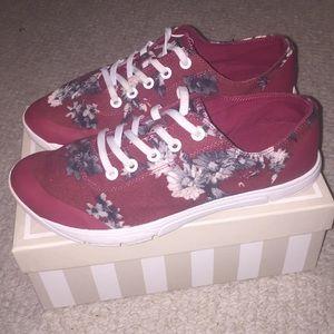 Floral Tennis Shoes